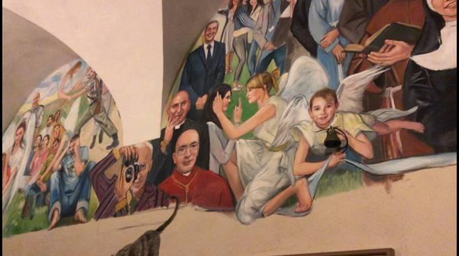 dipinti pastorelli Santa Maria di Campagna