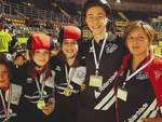 Gli atleti di Piace Skaters a Torino