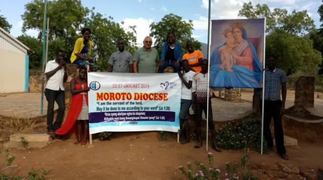 Gmg a Moroto un Uganda