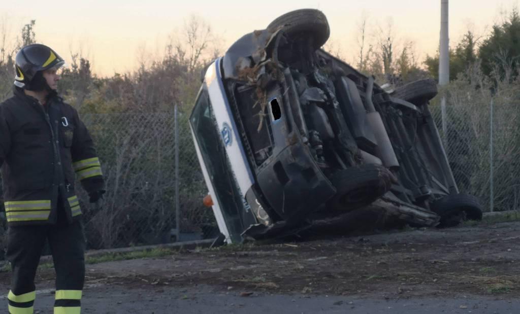 Incidente sulla statale 45 a Settima di Rivergaro