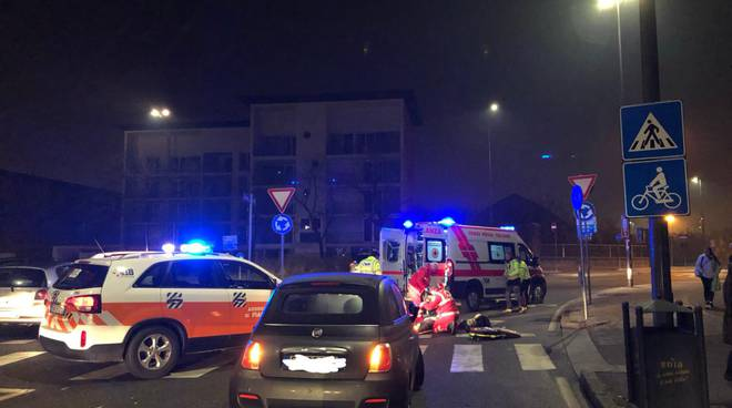 incidente viale Patrioti