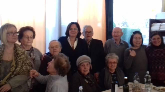 Incontro anziani con l'assessore Sgorbati
