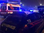 L'intervento delle forze dell'ordine in via Alberoni