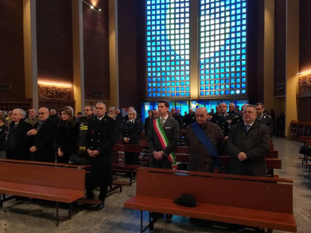 La celebrazione di S. Sebastiano patrono della Polizia Municipale