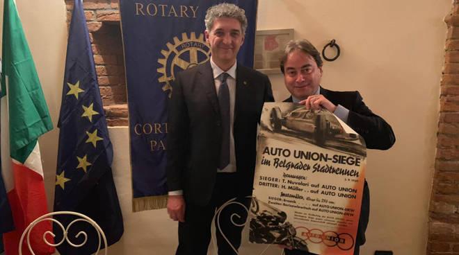 La conviviale del Rotary Club Cortemaggiore Pallavicino