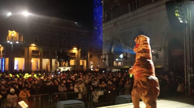 La Festa di Capodanno 2019 in piazza Cavalli
