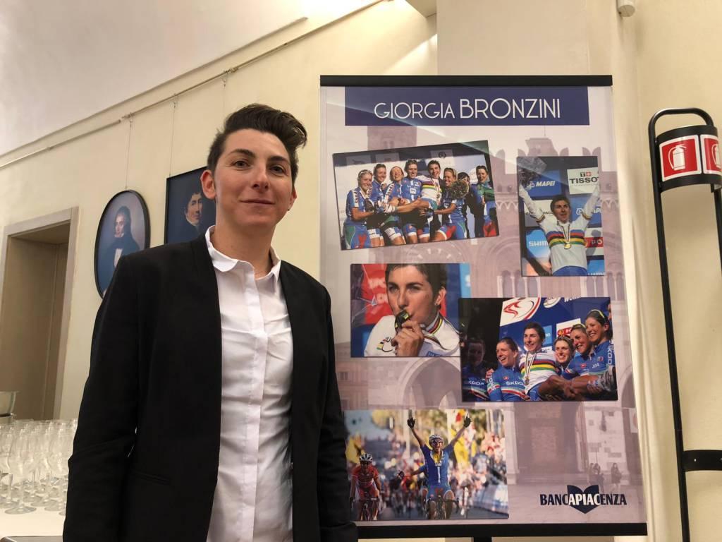 La festa per Giorgia Bronzini