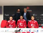 La presentazione di Bachini, Ferrari e Terrani