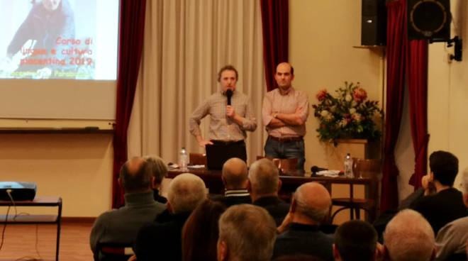 Nella foto, da sinistra, Cesare Ometti e Andrea Bergonzi