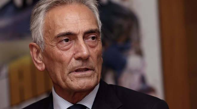 Nella foto (figc.it) il presidente della Federazione Gravina