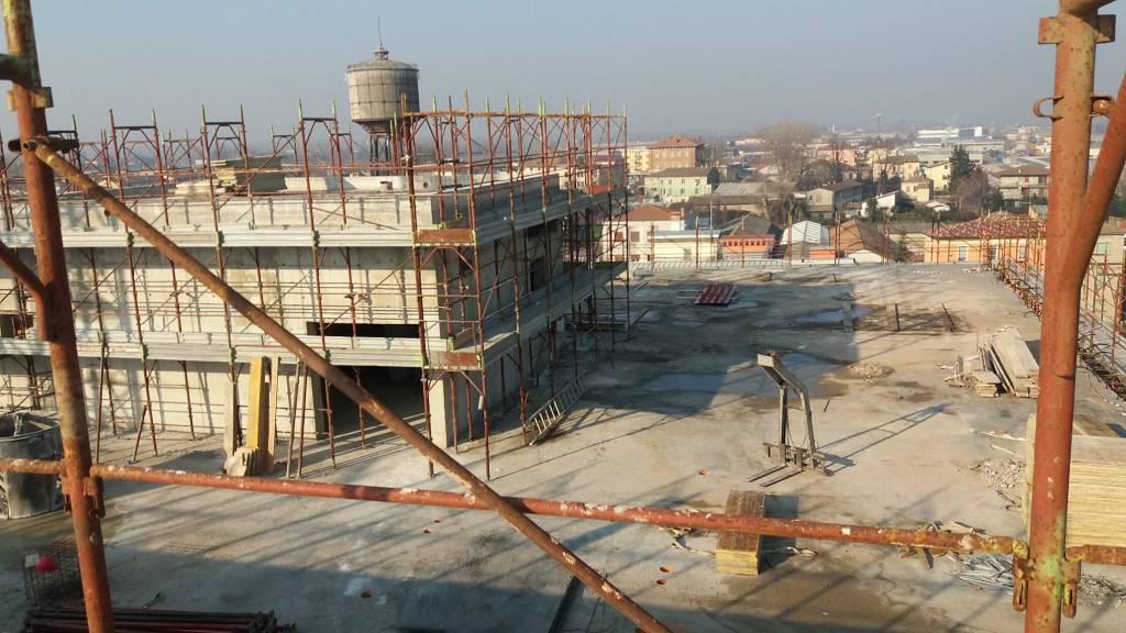 Ospedale di Fiorenzuola, completata la soletta