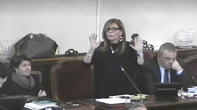 Patrizia Barbieri in consiglio comunale