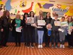 Vincitori e organizzatori dell'evento Rotary Valtidone