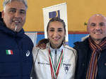 Agata Gremi con Nicola Vizzoni e Lorenzo Garganese