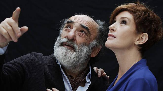 Alessandro Haber e Lucrezia Lante della Rovere (Foto Fabio Lovino)