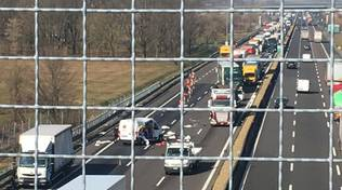 Autostrada A1 incidente