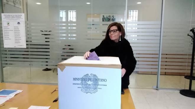Barbieri vota in Provincia