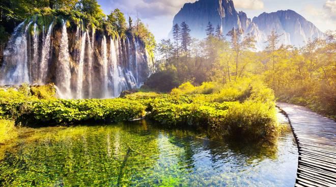 Le alpi orientali e i parchi naturali della Croazia