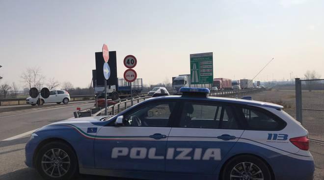 casello Piacenza Sud deviazione Polstrada