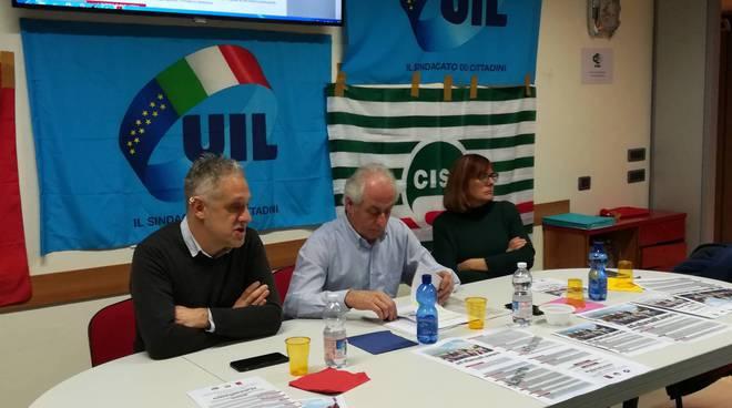 Cgil Cisl e Uil manifestazione 9 febbraio 2019