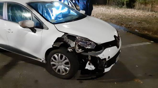Clio incidente inseguimento