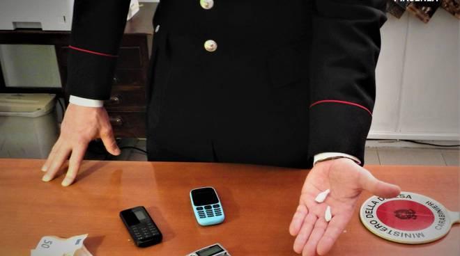 cocaina carabinieri arresto in via Torta