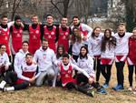 Gli atleti della Vittorino a Torino