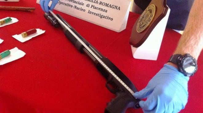 Il fucile utilizzato dall'imprenditore