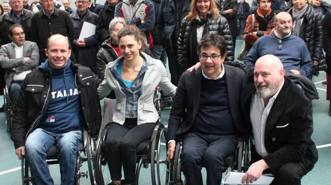 Inaugurazione del nuovo Centro Paralimpico a Villanova