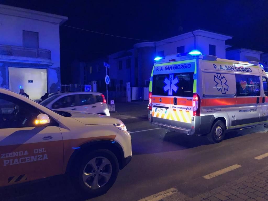 Incidente ciclista Podenzano