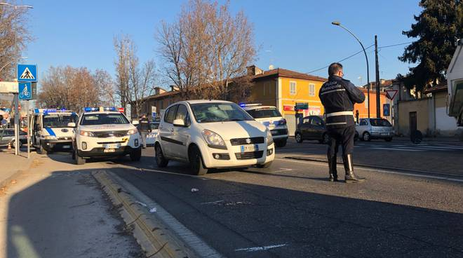 incidente pedone viale S. Ambrogio
