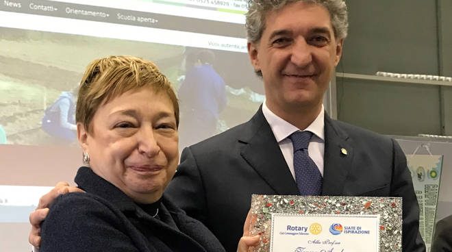 La consegna delle borse di studio del Rotary Cortemaggiore