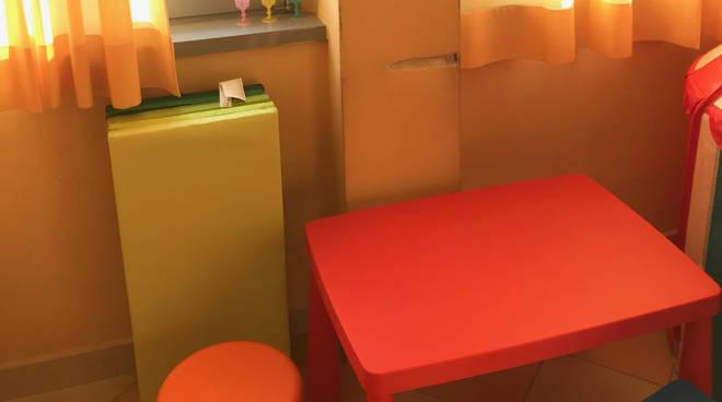 La nuova sala d'attesa del reparto di Odontostomatologia
