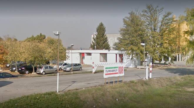 Lo stabilimento Rdb di Alseno