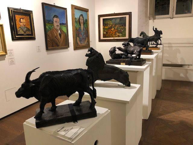 Mostra dedicata a Antonio Ligabue alla Biffi Arte
