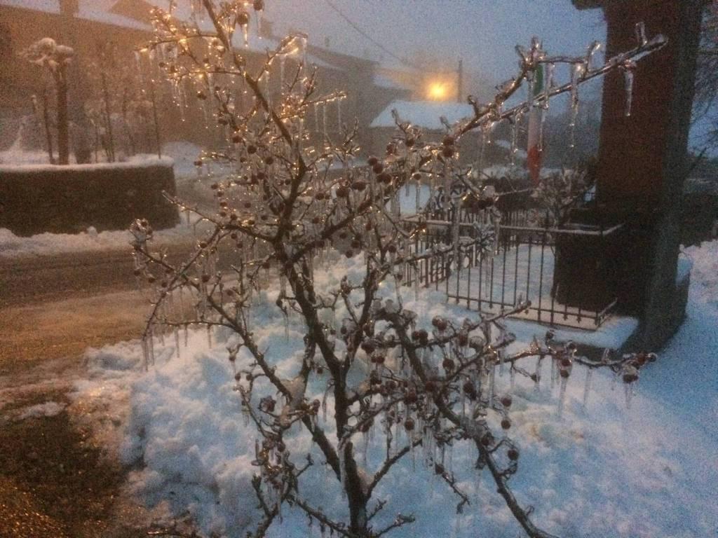 Neve a a Rocchetta di Morfasso