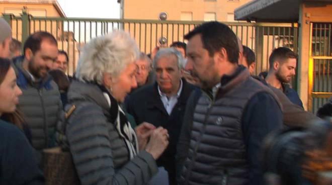 Salvini alle Novate