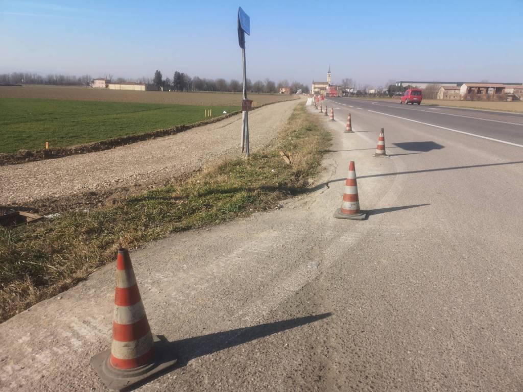 nuovo percorso ciclabile ponte paladini madonna del pilastro
