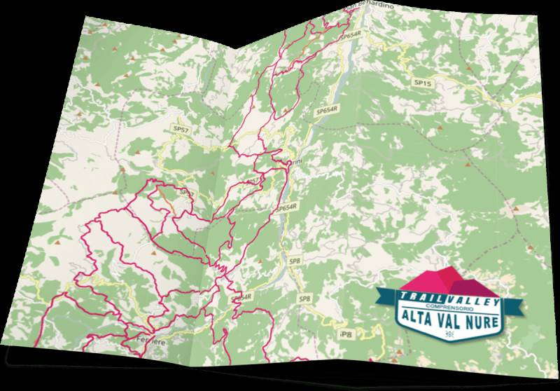 Trailvalley Valnure mappa