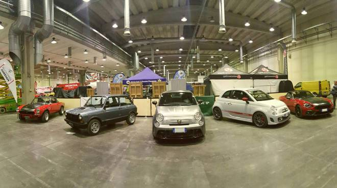 Abarth club Piacenza a Expo