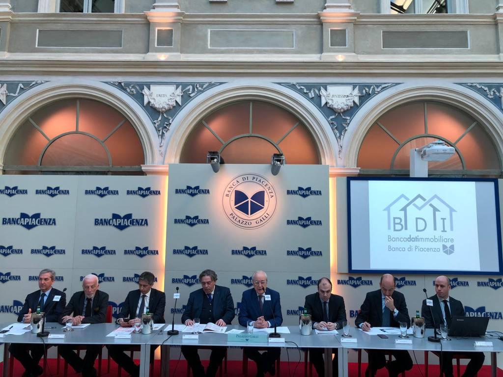 Banca di Piacenza banca dati immobiliare