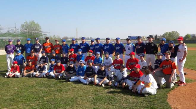 baseball team nazionale under 14
