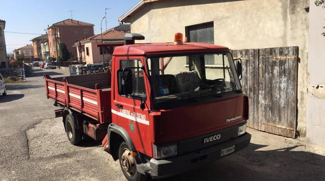 camion rubato ad Alseno