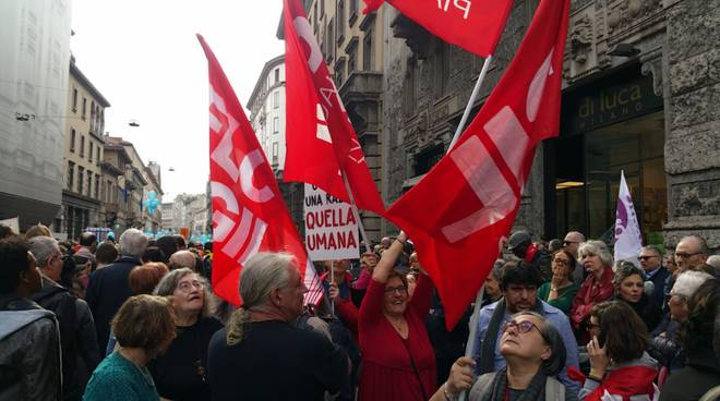Da Piacenza alla marcia antirazzista di Milano