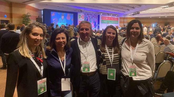 delegazione piacenza Partito Democratico assemblea