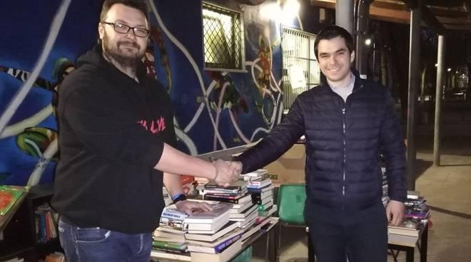 donazione libri biblioteca di strada