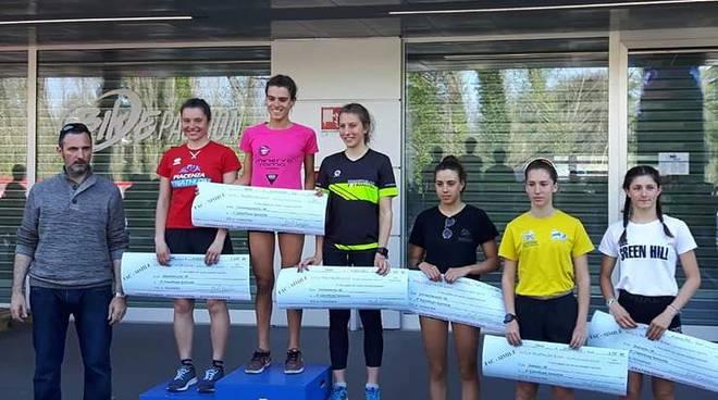 Duathlon Tania Molinari podio