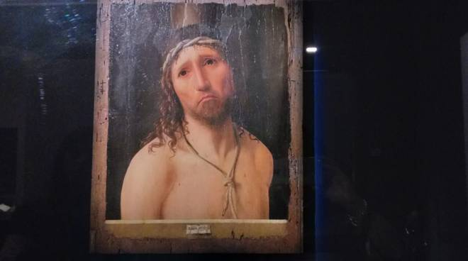 Ecce Homo Antonello Da Messina