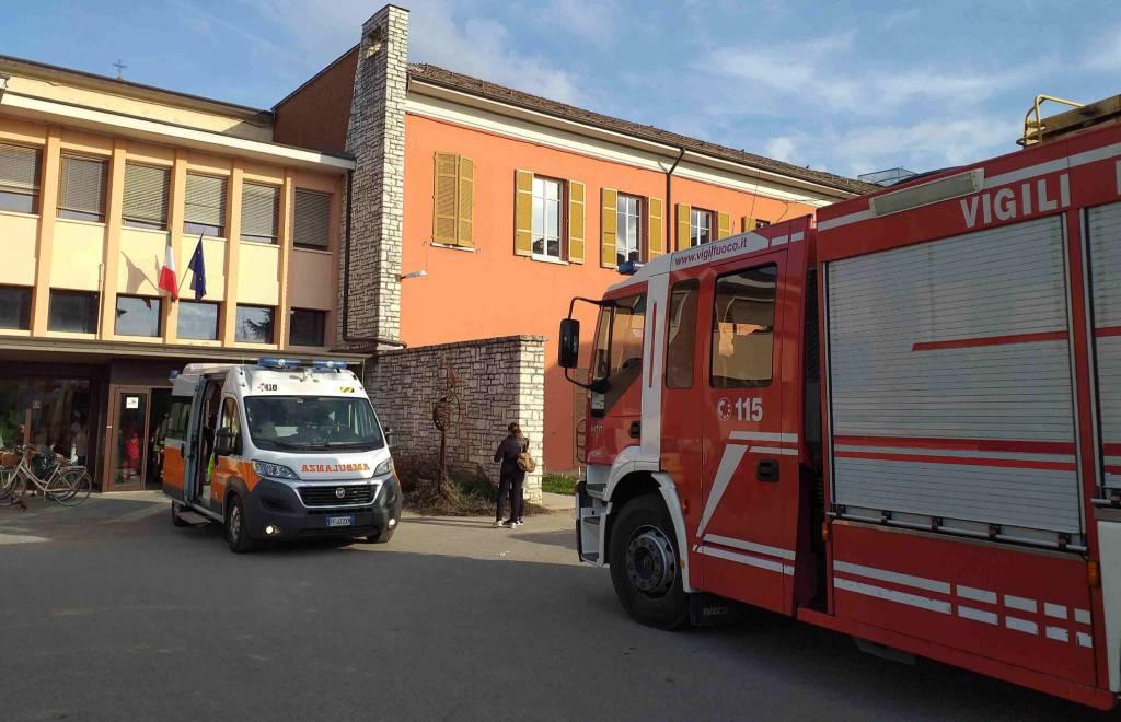Evacuazione Asp Azalea a Borgonovo