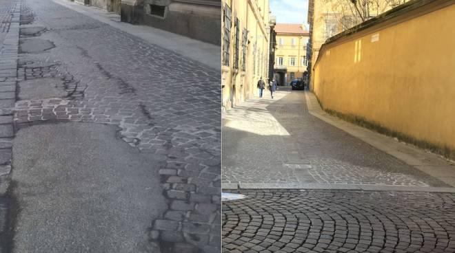 I lavori sulle strade cittadine